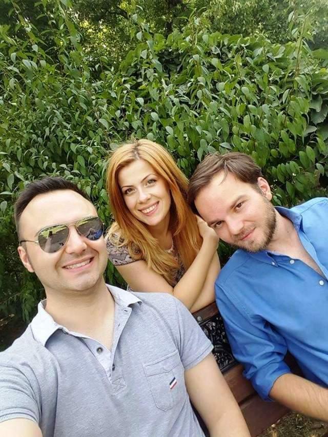 David, Diana şi Ovidiu Martin
